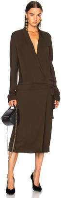 Haider Ackermann Wrap Coat Dress $1,735 thestylecure.com