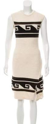 Isabel Marant Abstract Print Knee-Length Dress