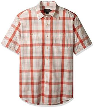 Pendleton Men's Short Sleeve Button Front Clear Lake Shirt