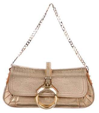 Dolce & Gabbana Metallic Leather Mini Bag