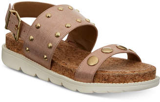 Adrienne Vittadini Perry Flat Sandals Women's Shoes