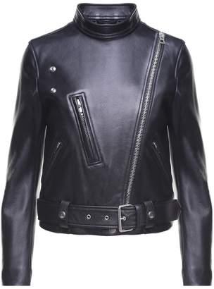 Acne Studios Lewis Leather Motorcycle Jacket