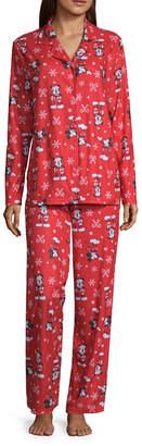 Disney 2-pack Holiday Pant Pajama Set