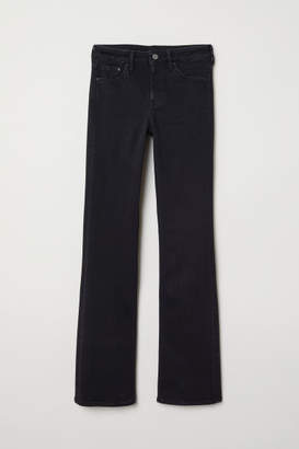 H&M Bootcut Regular Jeans - Black