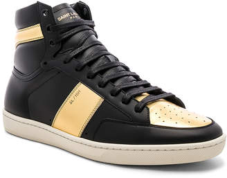 Saint Laurent SL/10H High Top Sneaker