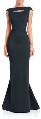 Zac Posen Low-Back Cap-Sleeve Gown $3,990 thestylecure.com