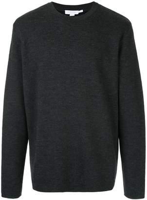 Sunspel crew neck knit top