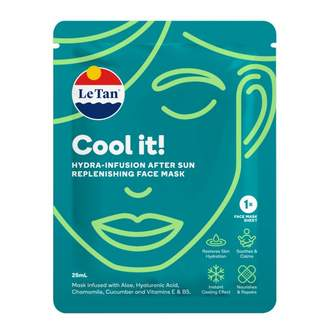 Le Tan Cool it! Hydra-Infusion After Sun Replenishing Face Mask 25 mL