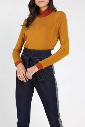 Honey Punch Charlie Two-Tone Top