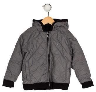 Burberry Boys' Hooded Reversible Jacket