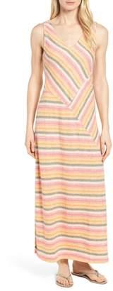 Caslon Stripe A-Line Maxi Dress