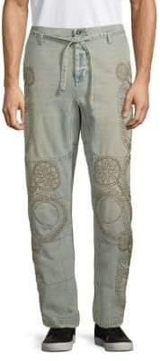 Valentino Studded Drawstring Jeans