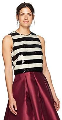 Eliza J Women's Sequin Top
