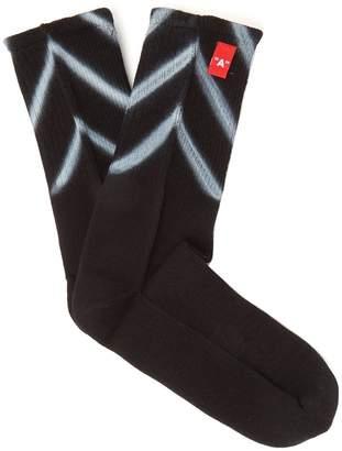Off-White Diag sprayed socks