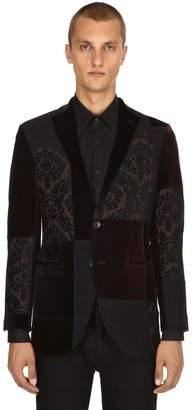 Etro Patchwork Jacquard & Velvet Jacket