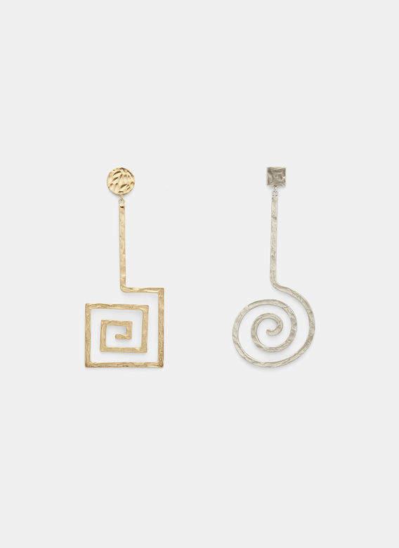 La Spirale Earring in Gold