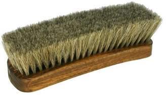 "STAR JR Professional Boot/Shoe Shine/Buff Brush - 100% Horsehair 6-3/4"" Long-Grey"