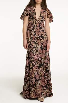OHLENDORF atelier Floral Silk Maxi