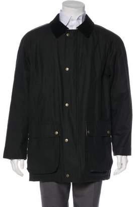 Burberry Nova Check-Lined Woven Nova Check-Lined Jacket