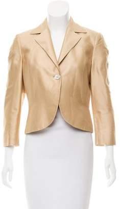 Valentino Satin Structured Jacket