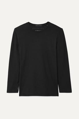 ATM Anthony Thomas Melillo Stretch-pima Cotton Jersey Top - Black