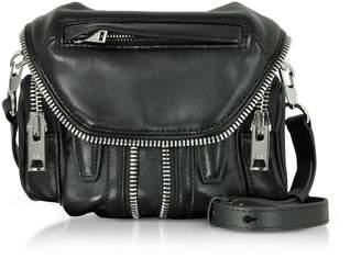 Alexander Wang Black Nappa Leather Micro Marti Shoulder Bag