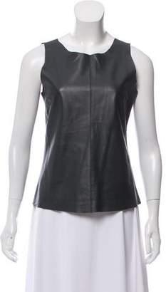Patterson J. Kincaid PJK Sleeveless Leather Top