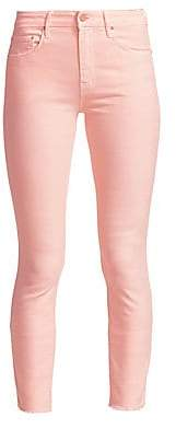 Mother (マザー) - MOTHER Women's Looker Step Hem Ankle Skinny Jeans