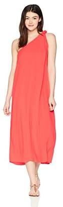 Mara Hoffman Women's Camilla One Shoulder Cover up Dress