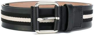 Bally stripe belt