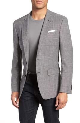 BOSS Hutsons Trim Fit Wool Blend Sport Coat