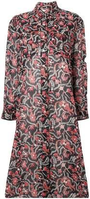 Etoile Isabel Marant フローラル シャツドレス