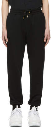Versace Black Terry Lounge Pants