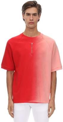 Diesel Gr Uniforma X Red Tag Cotton Jersey T-shirt