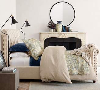 Pottery Barn Chesterfield Bed with Footboard