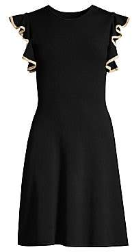 Shoshanna Women's Saya Knit Fit-&-Flare Dress