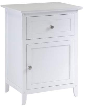 Winsome Wood Eugene Accent/ Night Table, Multiple Finishes