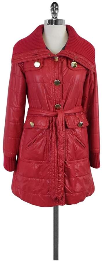 Marc by Marc Jacobs Fuchsia Puffer Coat