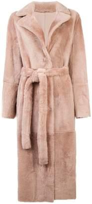 Yves Salomon longline coat