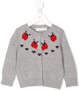 Stella McCartney Ladybird knit cardigan