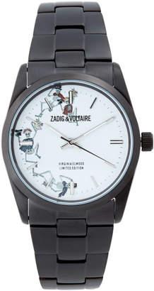 Zadig & Voltaire ZVF415 Black Dancing Skeleton Watch