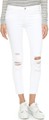 J Brand Cropped Skinny Jeans $178 thestylecure.com