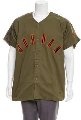 Jordan Logo Baseball Shirt w/ Tags