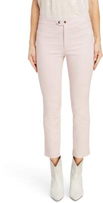 Isabel Marant Mofira Snap Detail Cotton Blend Pants
