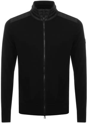 Kelby Zip Jumper Black