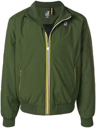 K-Way short zipped jacket