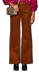 Icons Women's Hepburn Cotton Corduroy Wide-Leg Pants - Camel
