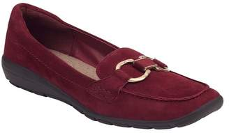 Easy Spirit Avienta Suede Loafer - Wide Width Available