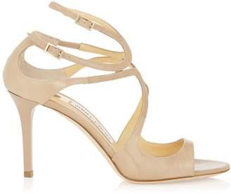Jimmy Choo Ivette 85 Patent Sandals