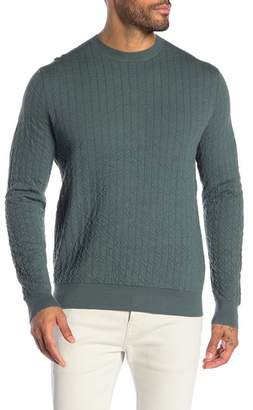 Theory Wool Sinne Milos Crew Neck Pullover